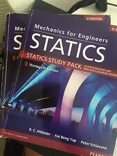 Mechanics for Engineers: Statics + STUDY PACK 13e (SI) by Hibbeler and Yap