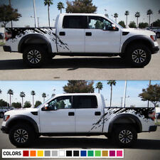 Sticker Vinyl Side Bed Kit Mud Splash mirror for Ford Raptor SVT F-150 2009-2017