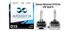 2 x Xenon Brenner D1S VW Golf 6 auch Variant Cabrio Lampen Birnen E-Zulassung
