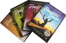 4 DVDs Instruccion y Practica de Pandero, Danza, Cintas y Banderas
