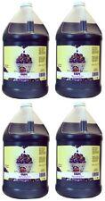 (4) ea Gold Medal 1224 Gallon Grape Flavor Sno-Cone Sno-Kone Syrup