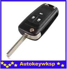 3 Button Flip Key blank transponder key for Holden Cruze remote hu100 remote 433