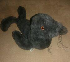 "Handcrafted Seal Plush Stuffed Animal 8""-12"" by Pauline's Original 1974"