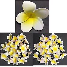 20pc Beautiful Foam Yellow Frangipani Flower Floating Home Wedding Décor