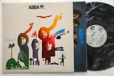 ABBA THE ALBUM W/INNER 1977 UNIQUE RARE WHITE LABEL EXYUGO LP