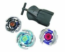 Metal Fight Beyblade BB-21 Black Pegasis Aquario Wolf Set + Bey Launcher Takara