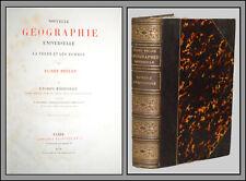 Elisée RECLUS - NOUVELLE GÉOGRAPHIE UNIVERSELLE - EUROPE MÉRIDIONALE - 1879
