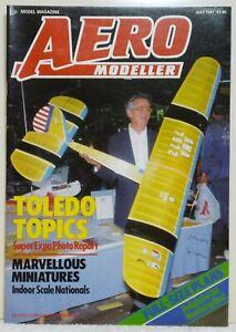 Aero Modeller July 87. Model Plans - DH53 Humming Bird F/Flight Scale Ultralight