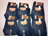 NWT LEVI'S 501 ORIGINAL FIT JEANS BUTTON FLY MEN'S LEVIS 100% ORIGINAL 005012487