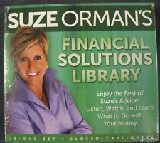 Suze Orman's Financial Solutions Library 9 DVD Set Finances NEW Sealed