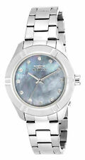 Invicta Women's 18319 Pro Diver Quartz 3 Hand White Dial Watch