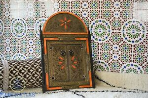Arched mirror Moroccan Mirror Metal Mirrors painted mirror bone inlay mirrors