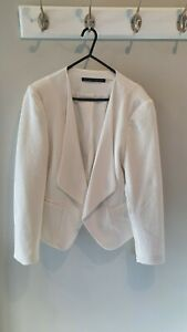 Ivanka Trump Women's White Blazer Jacket Size 12