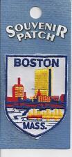 SOUVENIR PATCH - CITY OF BOSTON MASSACHUSETTS - SKYLINE