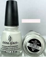 China Glaze Nail Polish White On White 023 True White French Manicure Lacquer