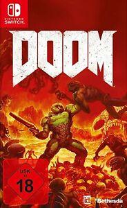 Nintendo Switch - Doom boxed