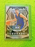 DENI AVDIJA PRIZM CRUSADE ROOKIE CARD JERSEY #8 ISRAEL RC WIZARDS SP  2020 Prizm