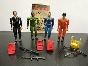 Vintage Galoob 1983, A-team, BA, MR T. Action Figures And Accessories,Job Lot