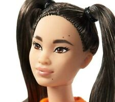 NEW 2020 Barbie Fashionistas Doll ASIAN ,Petite, PIGTAILS, NUDE DOLL ONLY