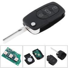 3 keys Folding key transmitter unit 433MHZ ID48 Fits Audi A3 A4 A6 TT 4D0837231A