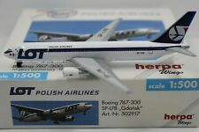 Herpa Wings 1:500 LOT Polish Airlines Boeing 767-300 70 Years Annivers. (502917)