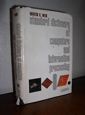 Standard Dictionary of Computers and Information Processing by Weik (HC,DJ,1970)