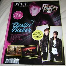 JUSTIN BIEBER STYX FOREIGN POSTER MAGAZINE EXTREMELY RARE TEEN PURPOSE FRENCH