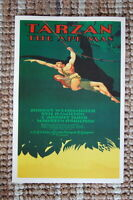 93089 Tarzan the Apeman Lobby Card Johnny Weissmuller Decor LAMINATED POSTER DE