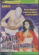 SEALED - Santo Contra Los Secuestradores DVD NEW El Santo Ernesto SHIPS NOW !