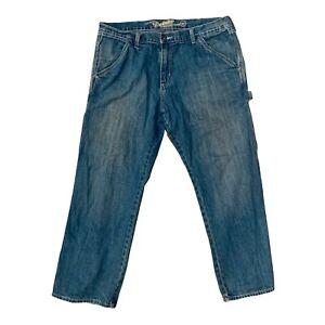 Old Navy Painters 38x30 Loose Fit Blue Jeans Carpenter Classic Denim Work Pants