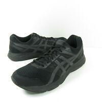 Asics Gel-Contend 5 Mens Size 12 Black Gray Running Shoes 1011A256