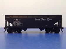"HO Scale ""Nickel Plate Road"" NKP 64250 2-bay Open Hopper Freight Train / Athearn"