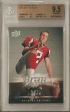 MATT RYAN RC BGS 9.5 GEM MINT 2008 UPPER DECK SP ROOKIE CARD #305 MVP FALCONS