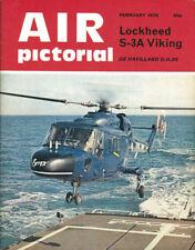 AIR PICTORIAL 2/75 RAF MARHAM VICTOR K.1A_LOCKHEED S-3 VIKING USN VS_D.H.86A_BEL