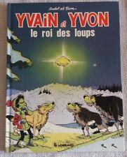 Yvain et Yvon 2 EO Le Roi des loups + dédicace Noël Sapin neige Jumeaux
