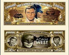 OUR ADAM WEST BATMAN DOLLAR BILL