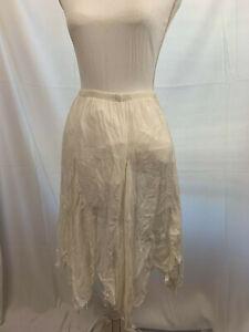 2005 Bohemian Forever 21 White Skirt Size Medium