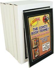 (5) CXMMPF Comic Book Picture Frames Display Current Modern Size Black Matting