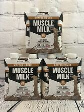 12 Pack Muscle Milk Coffee House Protein Shake, Mocha Latte, 11 FL OZ, Exp 01/21