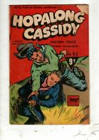 HOPPALONG CASSIDY  No 63 1954 BY FAWCETT .GOLDEN   AGE AUSTRALIAN  COMIC  VG