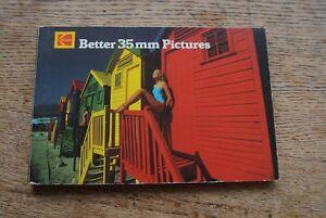 Kodak Better 35mm Photography booklet  NICE