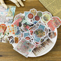 60PCS Washi Tape Paper Sticker Scrapbooking Photo Album Diary Journal Decor DIY