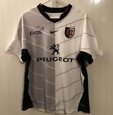 Saint Toulouse Nike Rugby Shirt Men'S Size L Rugby Jersey Peugeot Orange Rare