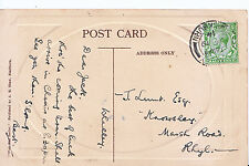 Genealogy Postcard - Family History - Lunt - Knowsley - Marsh Road - Rhyl  136A