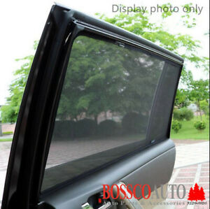 Magnetic Sun Shades suitable for Mitsubishi Pajero 2007-2018