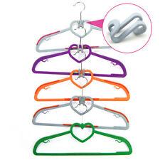 10Pcs Novel Strong Non-Slip Plastic Hooks For Hangers Hangers Accessories