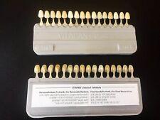 16 Colors Durable Porcelain Teeth Dental Materials VITA Shade Guide Tool