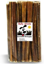 6 and 12 inch Junior Thin Bully Sticks for Dogs (Bulk Bags by Weight)