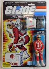 Reproduction packaged G.I. Joe 1986 Rescue Trooper { Code Name: Lifeline }