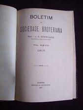 Boletim da sociedade broteriana - T.27 1917
